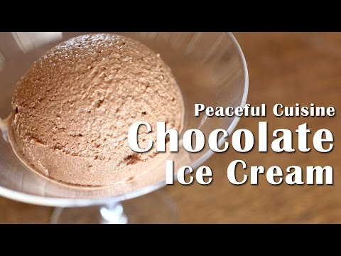 Chocolate Ice Cream without an Ice-cream Maker (vegan) ☆ チョコレートアイスクリームの作り方