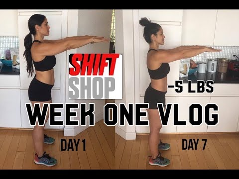 I lost 5lbs!!! Shift Shop Week One Vlog