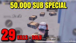 IM BACK!! 29 KILLS - PUBG Mobile - 50K Special :) :)
