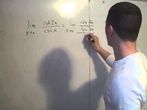 Limits with trigonometric functions