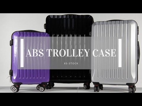ABS Trolley Luggage Case Product Overview