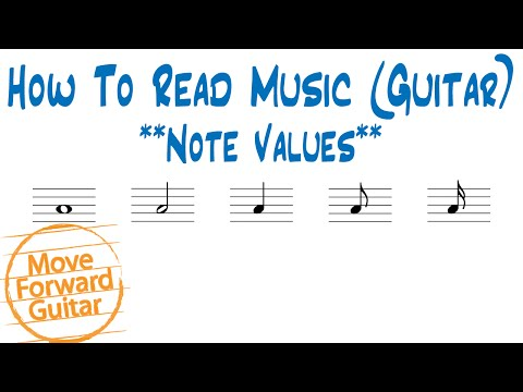 How to Read Music (Guitar) - Note Values