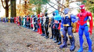 100 SUPERHEROES! Spider-Man, Hulk, Marvel Avengers, DC Justice League, TMNT, Star Wars Power Rangers