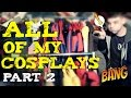 All of My Cosplays - Part 2 | Review