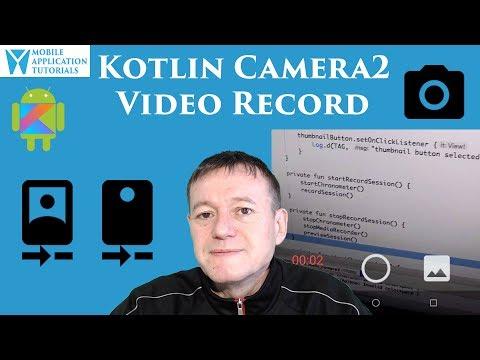 Kotlin camera2 API capture video recording