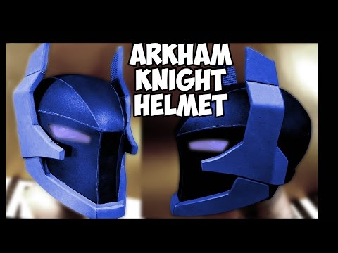 Arkham Knight Helmet Update How to DiY