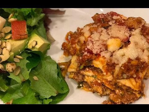 Facebook Live - Dairy-Free and Grain-Free Lasagna