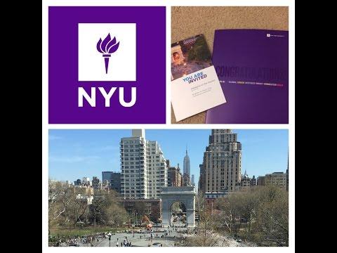 HOW I GOT INTO NYU! | MY STORY