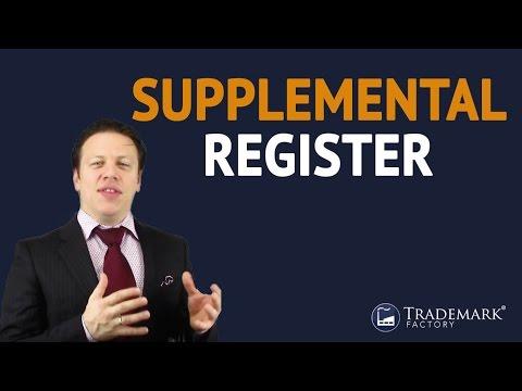 Supplemental Register | Trademark Factory® FAQ