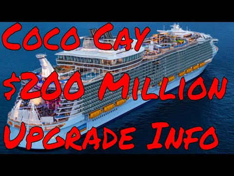 CoCo Cay Private Island Resort Upgrade $200 Million by Royal Caribbean Would You Pay To Use It?
