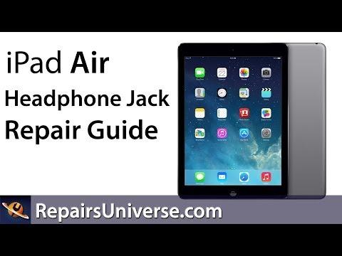 iPad Air Audio/Headphone Jack Replacement