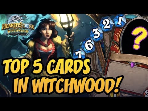 Hearthstone: Top 5 Underrated Cards In WitchWood!