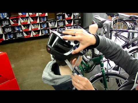 Bike Helmet Fitting