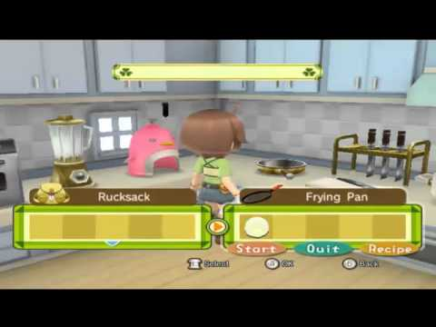How to Make Fried Egg on Harvest Moon Animal Parade