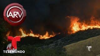 Alerta en California por descomunales incendios | Al Rojo Vivo | Telemundo