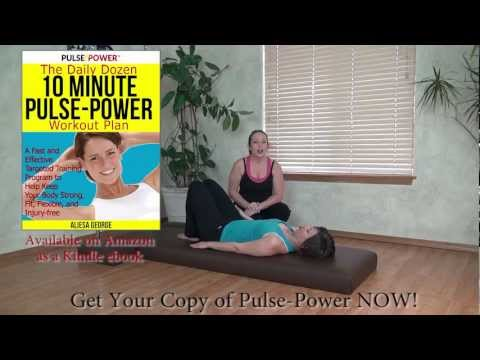 10 Minute Home Workout: Pulse Power Fitness Strength & Flexibility Training
