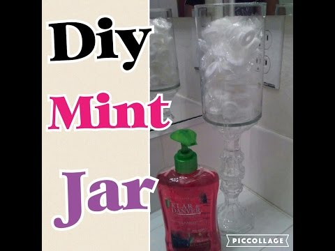 Diy Elegant Candy Jar