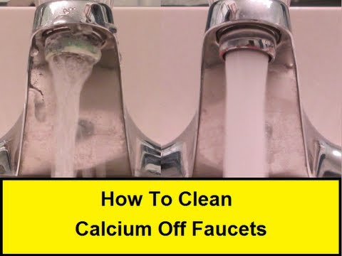 How To Clean Calcium Off Faucets (HowToLou.com)