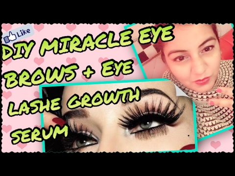 DIY Eyebrow & Eyelash GROWTH SERUM - GROW thick Eyebrows & LONG Eyelashes OVERNIGHT | 100% EFFECTIVE