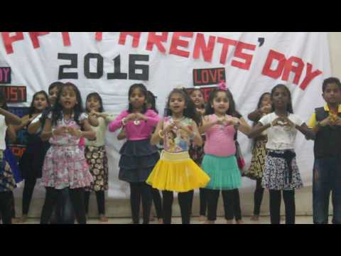 Parents' Day 2016 - Action Song by Sunday School Students
