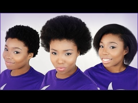 What Natural Hair Shrinkage Looks Like Before And After On 4C Hair!