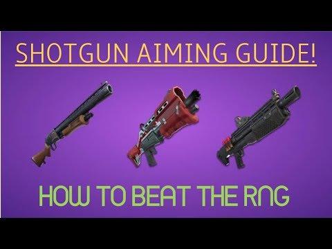 Fortnite - How to Get Good - Episode 4 (Part 1): SHOTGUN AIMING!
