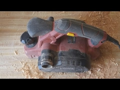 Chicago Electric Heavy Duty Electric Planer Review