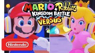 Mario + Rabbids® Kingdom Battle - Versus Mode Trailer - Nintendo Switch