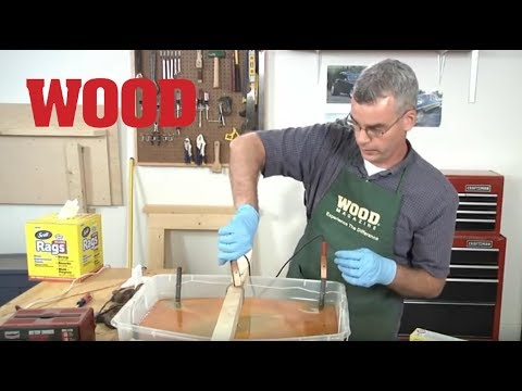 Removing Rust with Electrolysis - WOOD magazine