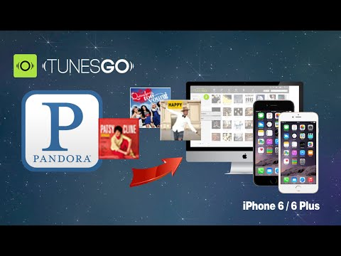 [Pandora to iPhone 6 Plus]: How to Download Music from Pandora to iPhone 6, 6 Plus