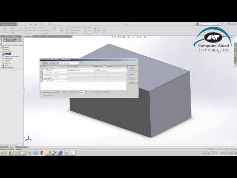 Calculation of Cost based on Mass or Volume in a SolidWorks part