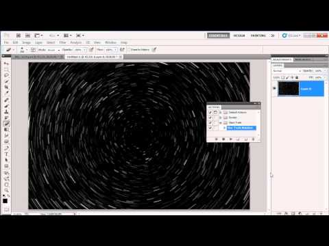 Star Trail Effect in Photoshop CS5: Gavin Hoey