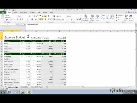 Managing Excel 2003 files in Compatibility Mode