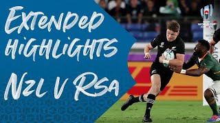 Extended Highlights New Zealand V South Africa