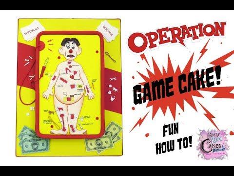 Operation Game Cake! - GAME NIGHT CAKE - Fun How To!