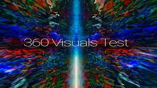 360° Visuals - 8K Galactic Quicksand Nebula - 3D VR Test