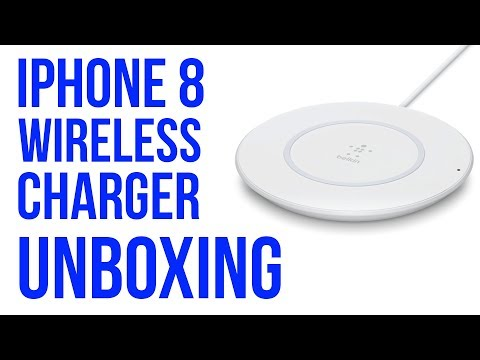 iPhone 8 Wireless Charger Unboxing - Belkin BoostUp