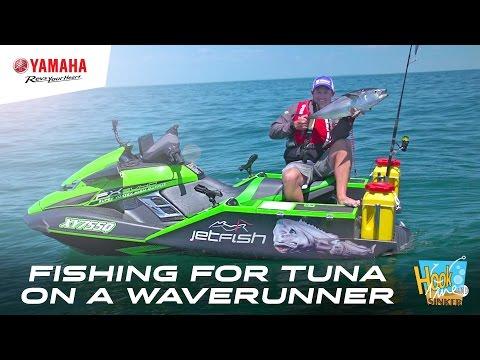 Gone fishing for Tuna, on a Yamaha FX SVHO WaveRunner - JetFish