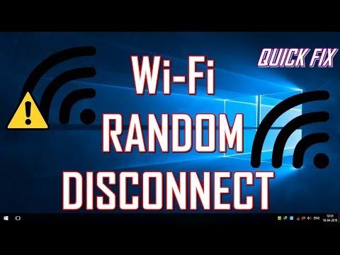 QUICK FIX - Wi-Fi RANDOM DISCONNECTING PROBLEM [SOLVED] - WINDOWS 10
