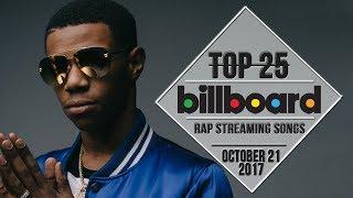 Top 25 • Billboard Rap Songs • October 21, 2017 | Streaming-Charts