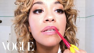 How Rita Ora Does Day-to-Night Bombshell Beauty | Beauty Secrets | Vogue