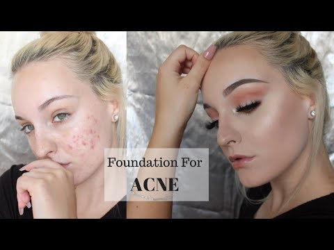 HOW TO COVER ACNE/SCARS | FULL COVERAGE FOUNDATION ROUTINE
