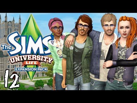 Let's Play The Sims 3 University Life - Ep. 12 - Finals & a PlantSim Surprise!!