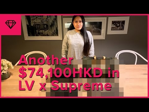 Bought More LV x Supreme & Survived 2 Typhoons in Hong Kong | nitro:licious