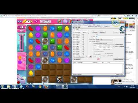 Hack de movimentos del candy crush saga (requiere cheat engine6.2)