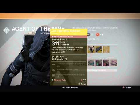 Xur, Agent of the Nine - Spawn Location for 10/17/14 - 10/19/14