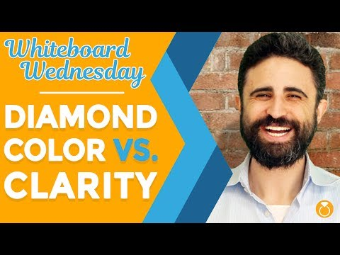 Diamond Color vs. Clarity, What's More Important?