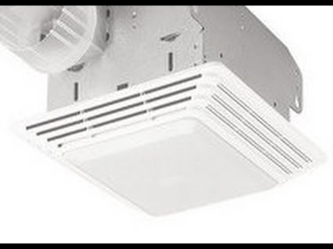 How to clean & replace light: Broan Model: 678 Exhaust Fan