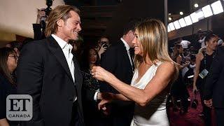 Jennifer Aniston's Emotional Acceptance Speech Leaves Brad Pitt In Awe