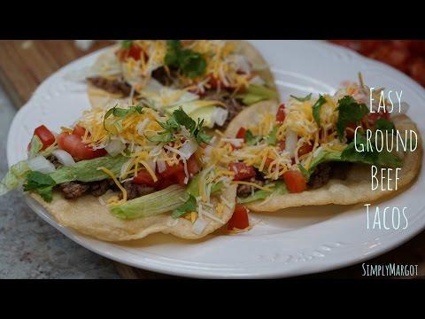 Easy Ground Beef Tacos | SimplyMargot